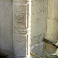 Particolare fontana della pigna - Rimini 8 - Paperoastro - Rimini (RN)