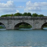 Vista frontale ponte di Tiberio - Irene giovannini - Rimini (RN)