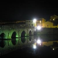 Ponte di Tiberio - effetto notte - Maxy.champ - Rimini (RN)