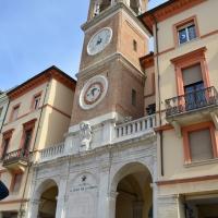 Vista frontale Torre dell'orologio - Irene giovannini - Rimini (RN)
