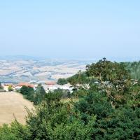 La vista su Mondaino dalla Rocca - Chiari86 - Mondaino (RN)