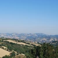 Il Paesaggio dalla Rocca Malatestiana - Chiari86 - Mondaino (RN)