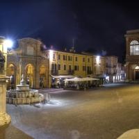 Piazza Cavour di notte - GianlucaMoretti - Rimini (RN)