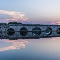 Rimini Ponte di Tiberio Tramonto - Laura Monetini - Rimini (RN)