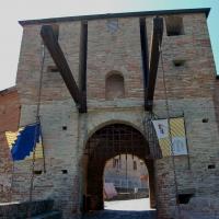 Porta Montanara in occasione del Palio del Daino a Mondaino - Chiari86 - Rimini (RN)
