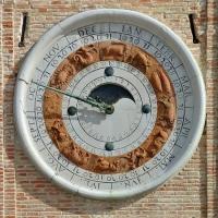 Wikilovesmonuments2016 - piazza tre martiri - orologio astronomico - Emilio Salvatori - Rimini (RN)