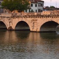 Particolare del Ponte di Tiberio, Rimini - Supermabi - Rimini (RN)