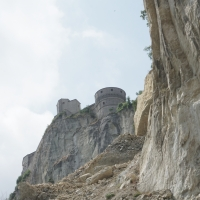 Rocca di San Leo , dopo la frana - Supermabi - San Leo (RN)