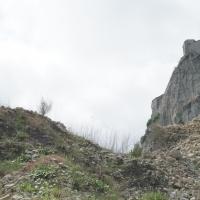 Rocca di San Leo, particolare dopo la frana - Supermabi - San Leo (RN)