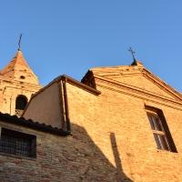 Chiesa delle Clarisse, facciata - Daniela Lorenzetti - Mondaino (RN)