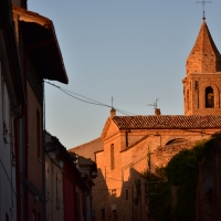Chiesa delle Clarisse con campanile - Daniela Lorenzetti - Mondaino (RN)
