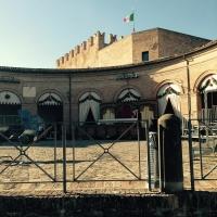 Loggiato e Rocca, Palio del daino 2015 - Daniela Lorenzetti - Mondaino (RN)