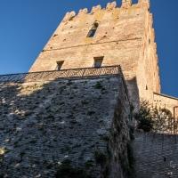 Rocca Malatestiana al tramonto - Enrico.chi - Mondaino (RN)