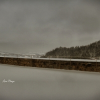 La Rocca e la neve44 - Larabraga19 - Montefiore Conca (RN)