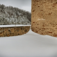 La Rocca e la neve47 - Larabraga19 - Montefiore Conca (RN)