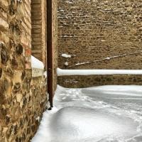 La Rocca e la Galaverna....ghiaccio sulla neve112 - Larabraga19 - Montefiore Conca (RN)