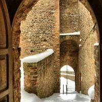 La Rocca e la Galaverna....ghiaccio sulla neve - Larabraga19 - Montefiore Conca (RN)