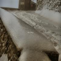 La Rocca e la Galaverna....ghiaccio sulla neve109 - Larabraga19 - Montefiore Conca (RN)