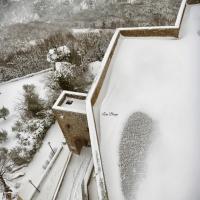 La Rocca e la neve7 - Larabraga19 - Montefiore Conca (RN)