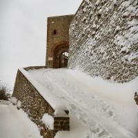 La Rocca e la magia della neve2 - Larabraga19 - Montefiore Conca (RN)