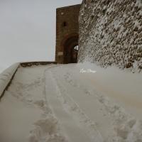 La Rocca e la magia della neve3 - Larabraga19 - Montefiore Conca (RN)