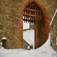 La Rocca e la magia della neve - Larabraga19 - Montefiore Conca (RN)