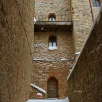 La Rocca e la magia della neve66 - Larabraga19 - Montefiore Conca (RN)