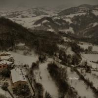 La Rocca e la neve5 - Larabraga19 - Montefiore Conca (RN)