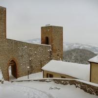 La Rocca e la magia della neve7 - Larabraga19 - Montefiore Conca (RN)