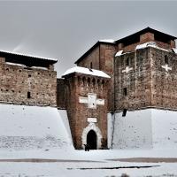 Castel Sismondo in bianco - GianlucaMoretti - Rimini (RN)