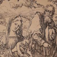 Sacra Famiglia con le tre lepri di Albrecht Dürer - Marco Musmeci - Saludecio (RN)