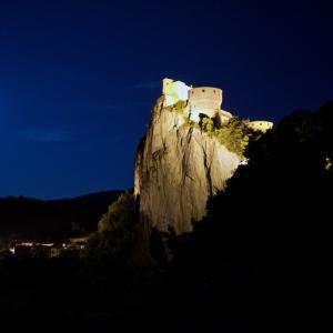 Fortezza di San Leo - La Fortezza di notte foto di: Luigi Ciucci - Luigi Ciucci