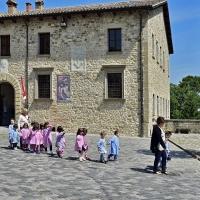 L'antico ed il presente - Carlo grifone - San Leo (RN)