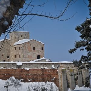 Rocca Malatestiana - Rocca malatestiana di Verucchio con la neve 2 foto di: |Alessandra D'Alba| - IAT VERUCCHIO